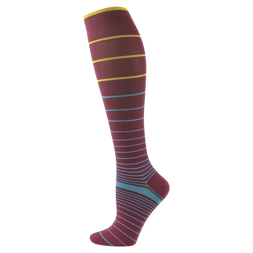 3street Men's Women's Wool Knee-hi Sport Compression Stocking Sock 1/2/3/6 Pair