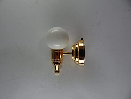 Lighting Heidi Ott LED White Globe Ceiling Lamp Dolls House Miniature