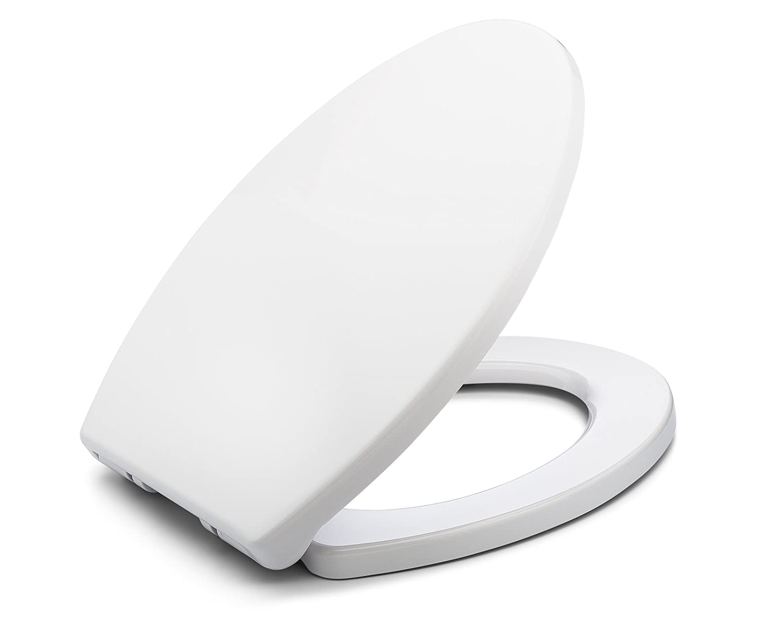 Outstanding Bath Royale Br237 00 Mastersuite Elongated Toilet Seat With Cover White Slow Close Quick Release For Easy Cleaning Spiritservingveterans Wood Chair Design Ideas Spiritservingveteransorg