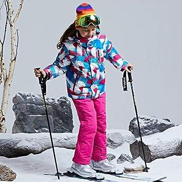ZLULU Traje De Esqui Niños/Niñas Traje De Esquí Pantalones ...