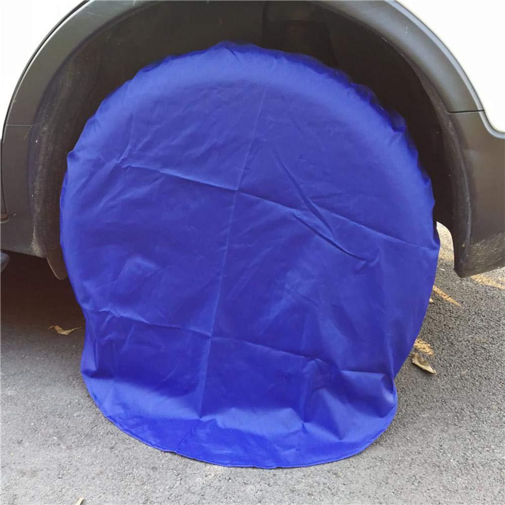 ATpart tire Covers impermeabile e antisporco pneumatico Covres antigraffio pneumatico di ricambio pelle spruzzatura vernice antiruggine pneumatico coperture per prevenire da gatto e cane pipì