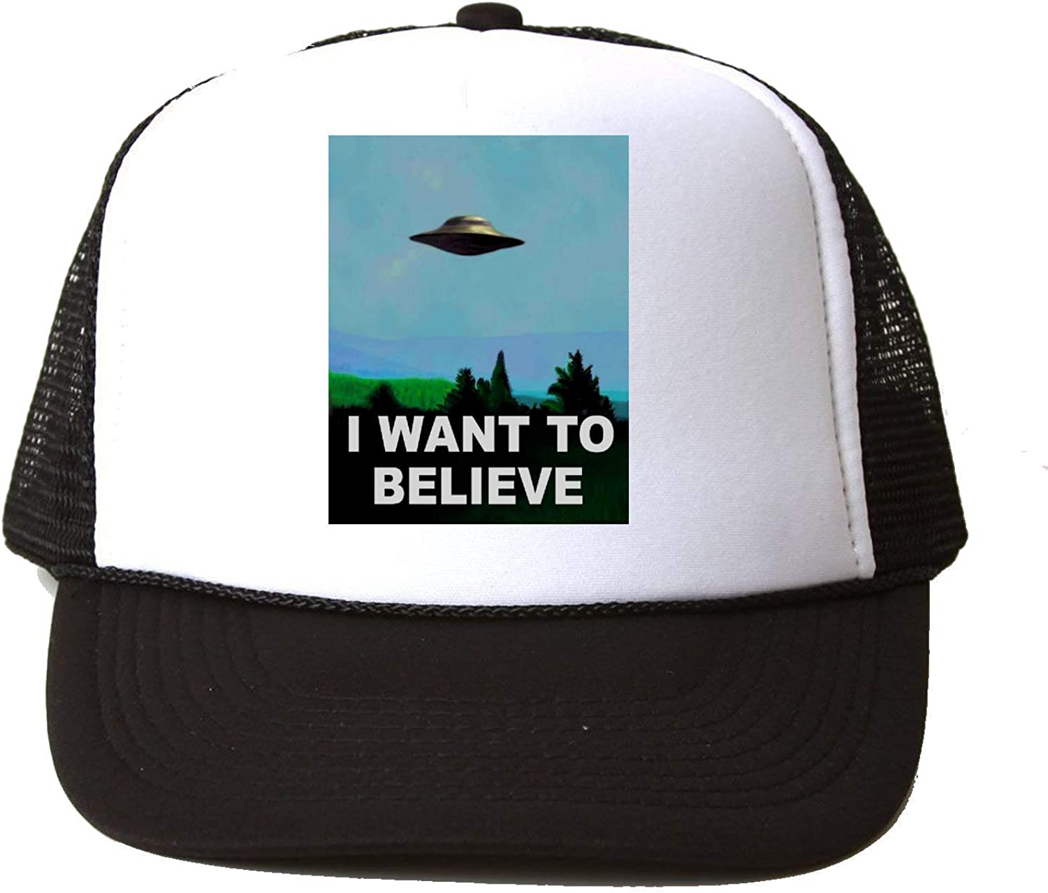 X Files I Want To Believe Poster Baseball Cap Hat Gorra Unisex One ...