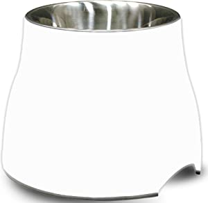 Dogit Elevated Dog Bowl, Stainless Steel Dog Food and Water Bowl for Dogs