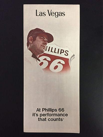 Amazon com : 1974 Phillips 66 Las Vegas, NV Road Map