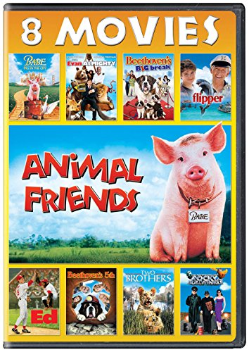 Animal Friends 8-Movie Collection (Six Pack Movie Dvd)