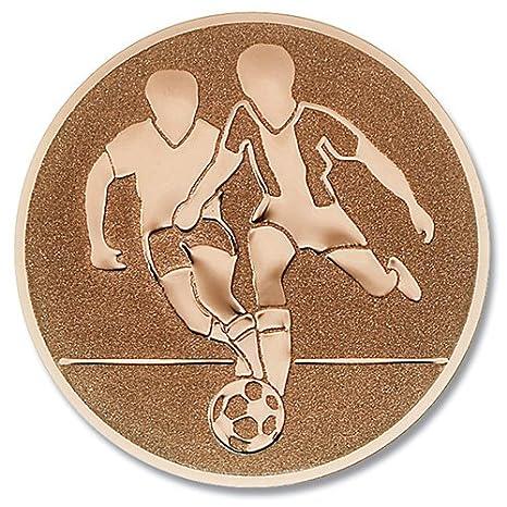 Copa-escudo del equipo de fútbol de bronce: Amazon.es: Deportes y ...