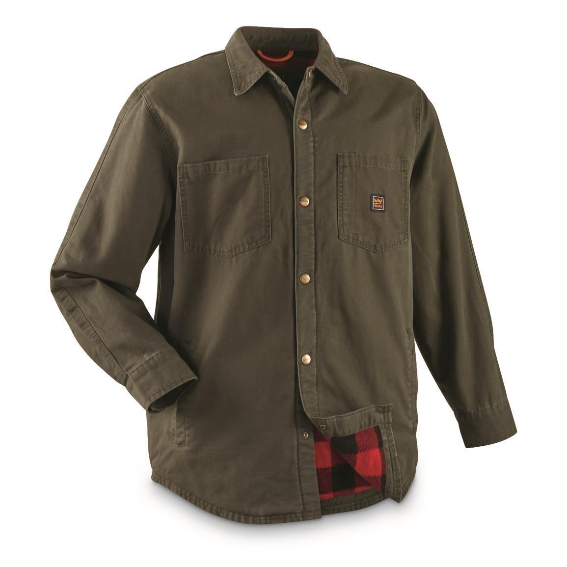c659e58ea Walls Men's Bandera Vintage Duck Shirt Jacket