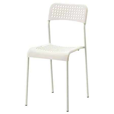 Ikea Adde Chair White Indoor/Outdoor Back Rest