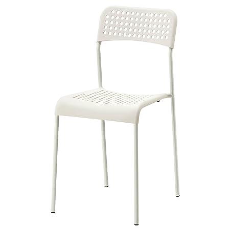 Ikea Adde Chair White Indoor/Outdoor Back Rest