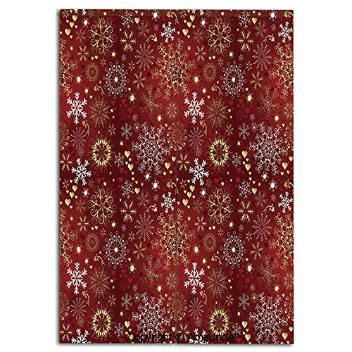Fitting Room Door Curtain,Partition Curtain,Divide Rooms for Privacy,Old Fashioned Christmas Mix with Hearts and Swirls Vintage Festive Composition Decorative(33.5x47.2 Inches),Personalized Home Decor