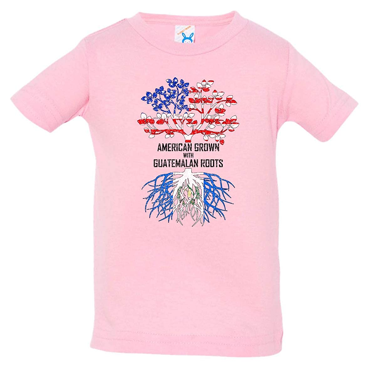 Tenacitee Babys American Grown with Guatemalan Roots Shirt