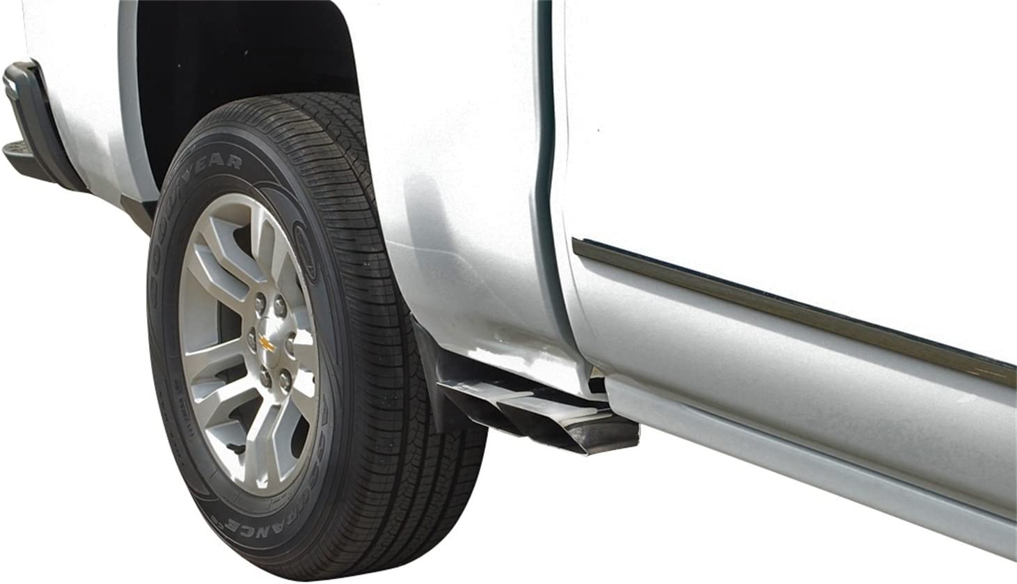 Gibson Performance Exhaust 65659 Stainless Super Truck Cat-Back Performance Exhaust System