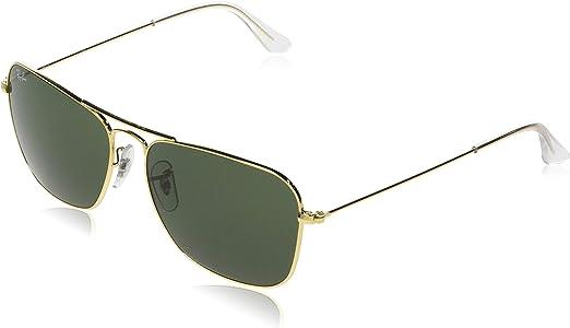 TALLA 58. Ray-Ban Gafas de sol Unisex Adulto