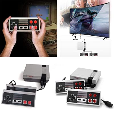 Zuckerfan Mini Game Consoles Classic Game Consoles Built-in 620 Games Video Games Handheld Game Player,AV Output,8-Bit,Bring You Happy Childhood Memories - US Plug: Toys & Games