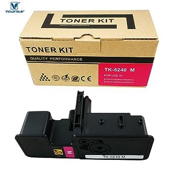 VICTORSTAR @ Cartucho de Tóner Compatible TK5240 / TK-5240 para ...