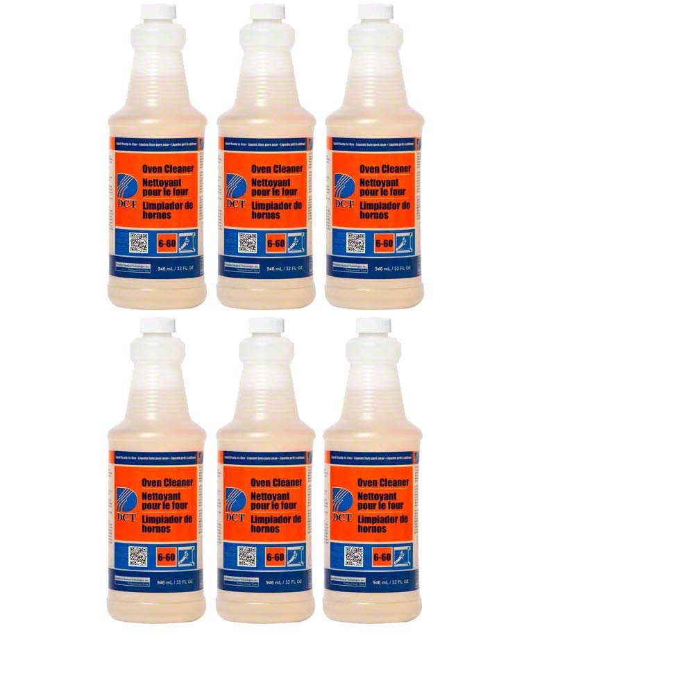 Diversified Chemical Dct Oven Cleaner, Rtu Sprayer, Case of 6/1 Qt, PGC00004