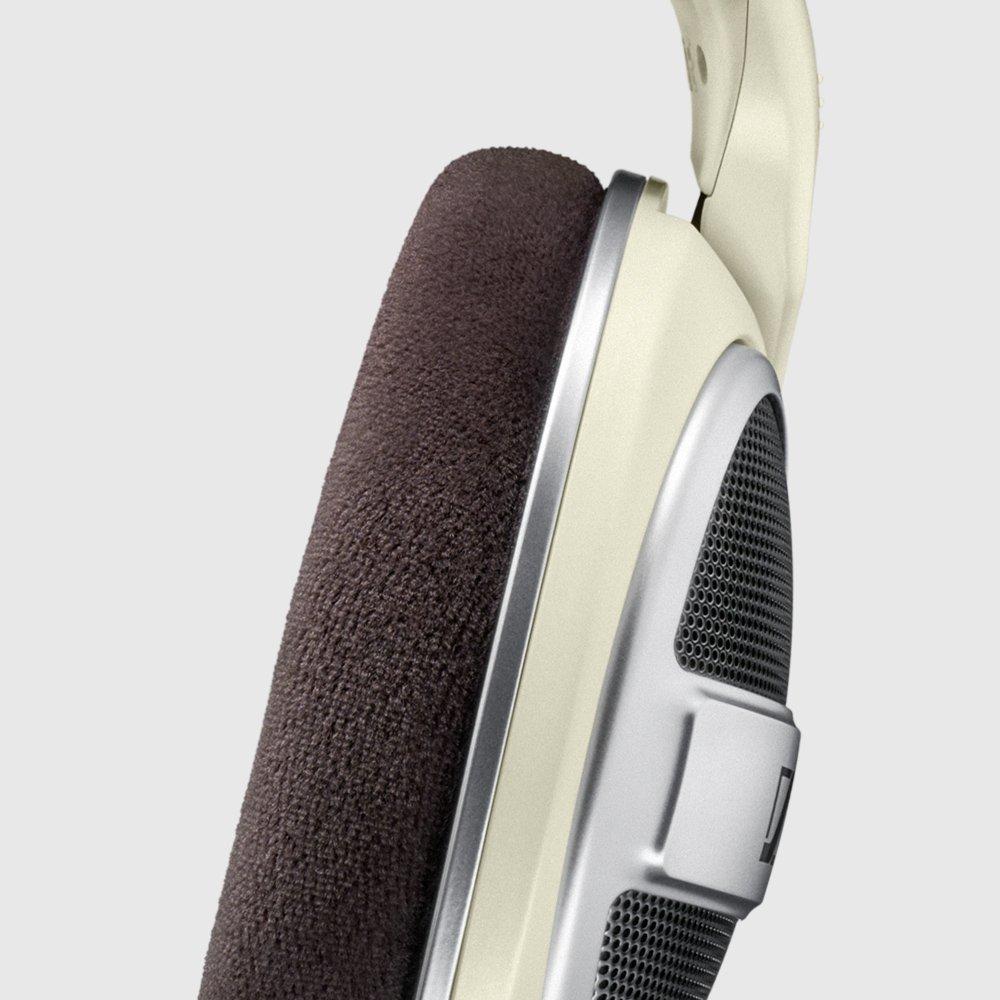 6.3 mm//3.5 mm Auriculares de Diadema Abiertos Sennheiser HD 599 Color Marfil