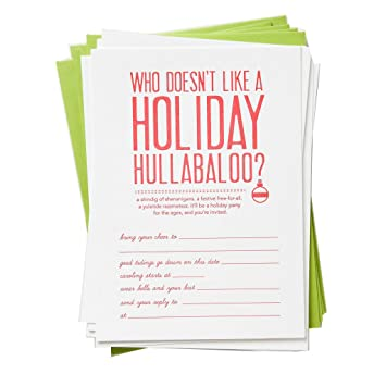 Image Unavailable Not Available For Color Funny Holiday Christmas Party Invitations