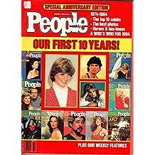 1984 People March 5 - Tenth anniversary issue; Farrah Fawcett; John Lennon;