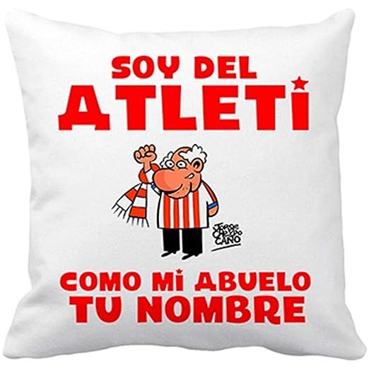 Diver Bebé Cojín con Relleno Soy del Atleti Atlético de ...