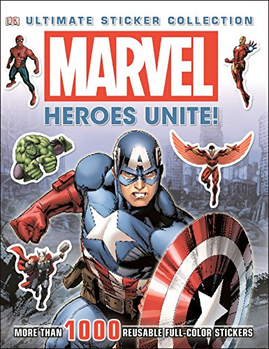 - Ultimate Sticker Collection: Marvel: Heroes Unite!: More Than 1,000 Reusable Full-Color Stickers