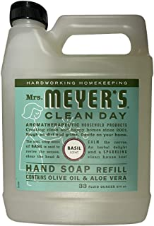 product image for Mrs. Meyer's Clean Day Liquid Hand Soap Refill, 33 fl oz, Basil (Pack of 2)