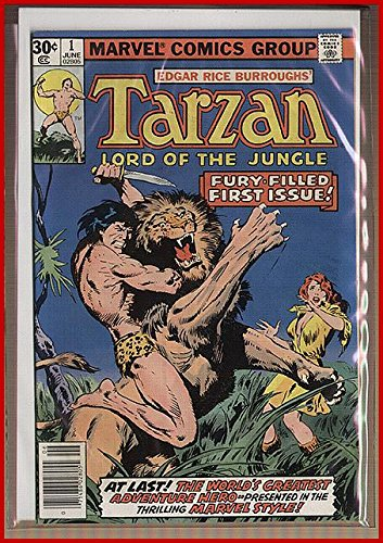 TARZAN COMICS COLLECTION, 20-Different, 30-Year Over
