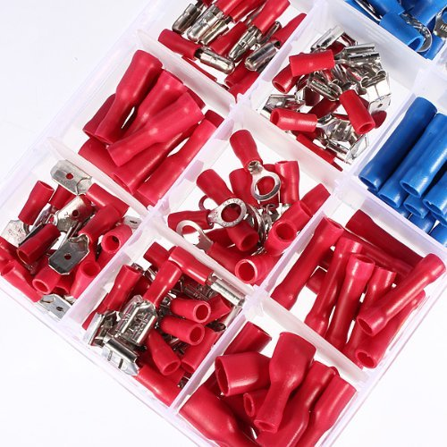 MIMI 200X Insulated Electrical terminal Crimp Connectors Crimp Assortment NEW PRODUCT