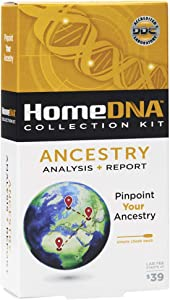 HomeDNA Ancestry Analysis + Report   Choose The Test That's Right for You   at-Home DNA Test Kit   Lab Fees NOT Included   Kit ONLY