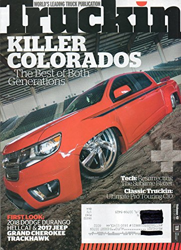Cherokee Suspension (Truckin Vol 42 No 10 August 11 2016 Magazine WORLD'S LEADING TRUCK PUBLICATION FIRST LOOK: 2018 DIDGE DURANGO HELL CAT & 2017 JEEP GRAND CHEROKEE TRACKHAWK)