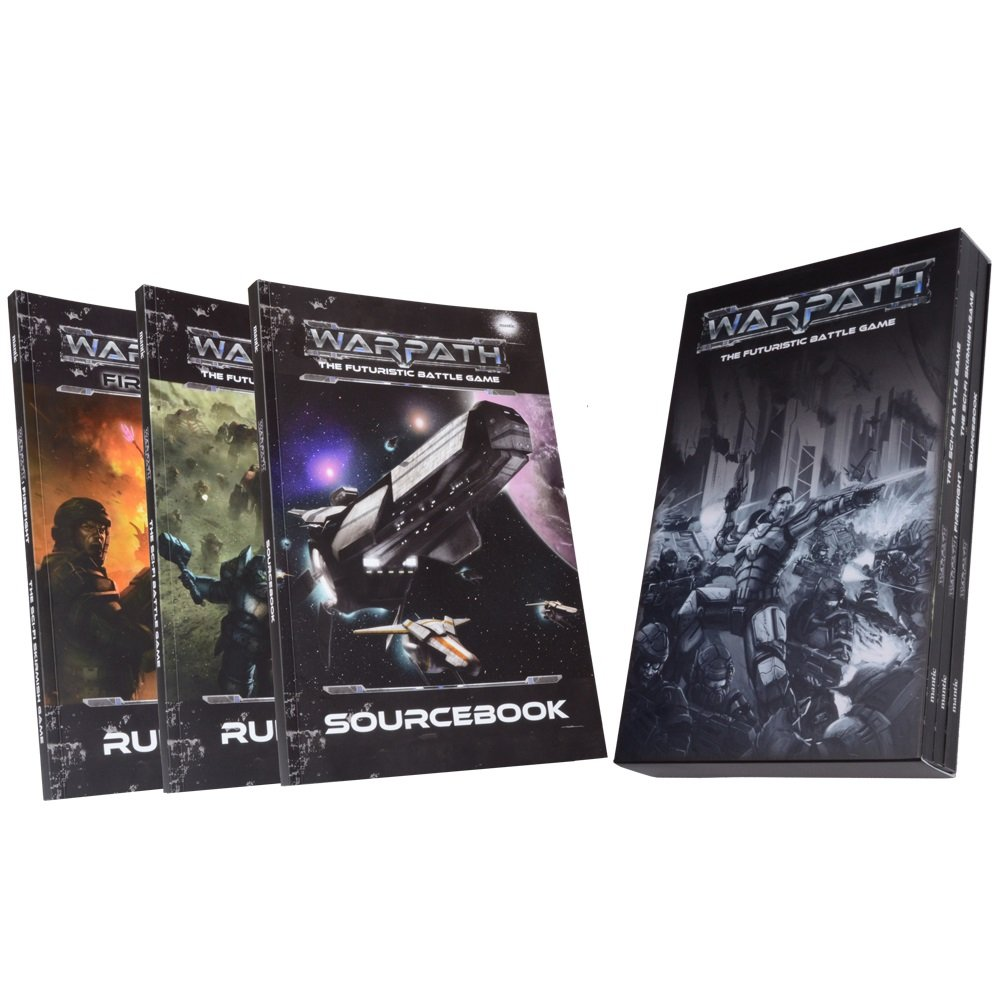 Mantic Games MGWPM101 Warpath Rulebook Collection