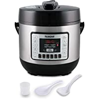 NUWAVE NUTRI-POT 6-Quart DIGITAL PRESSURE COOKER with Sure-Lock Safety System; Dishwasher-Safe Non-Stick Inner Pot; 11…