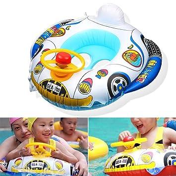3030354573 Evsta Kids Swim Toddler Swimming Pool Swim Seat Float Car Boat Ring ...