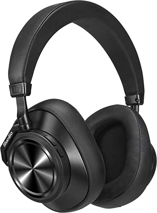 Bluetooth Headphones Over EarBluedio T7 Plus Turbine Custom Noise Cancelling Headphones57mm Driver HiFi Stereo 30Hrs PlaytimeWireless Headsets with Mi at Kapruka Online for specialGifts