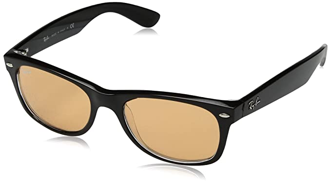 Ray-Ban 63983L, Gafas de sol para Hombre, Black/Transparente ...
