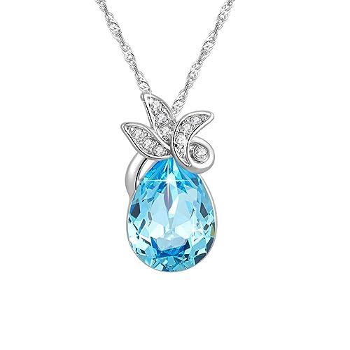 CINDLA Collares de Mujer Fabricados con Cristales Swarovski ...