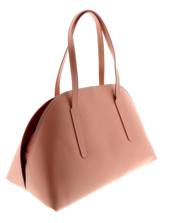 HS2034 RA ARES Pink Leather Satchel/Shoulder Bag
