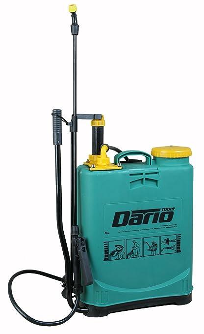 Dario Tools CMB382160 - Mochila pulverizadora a presión (16 l), color verde