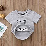 Toddler Kids Boys Girls T-Shirt Classic Letter