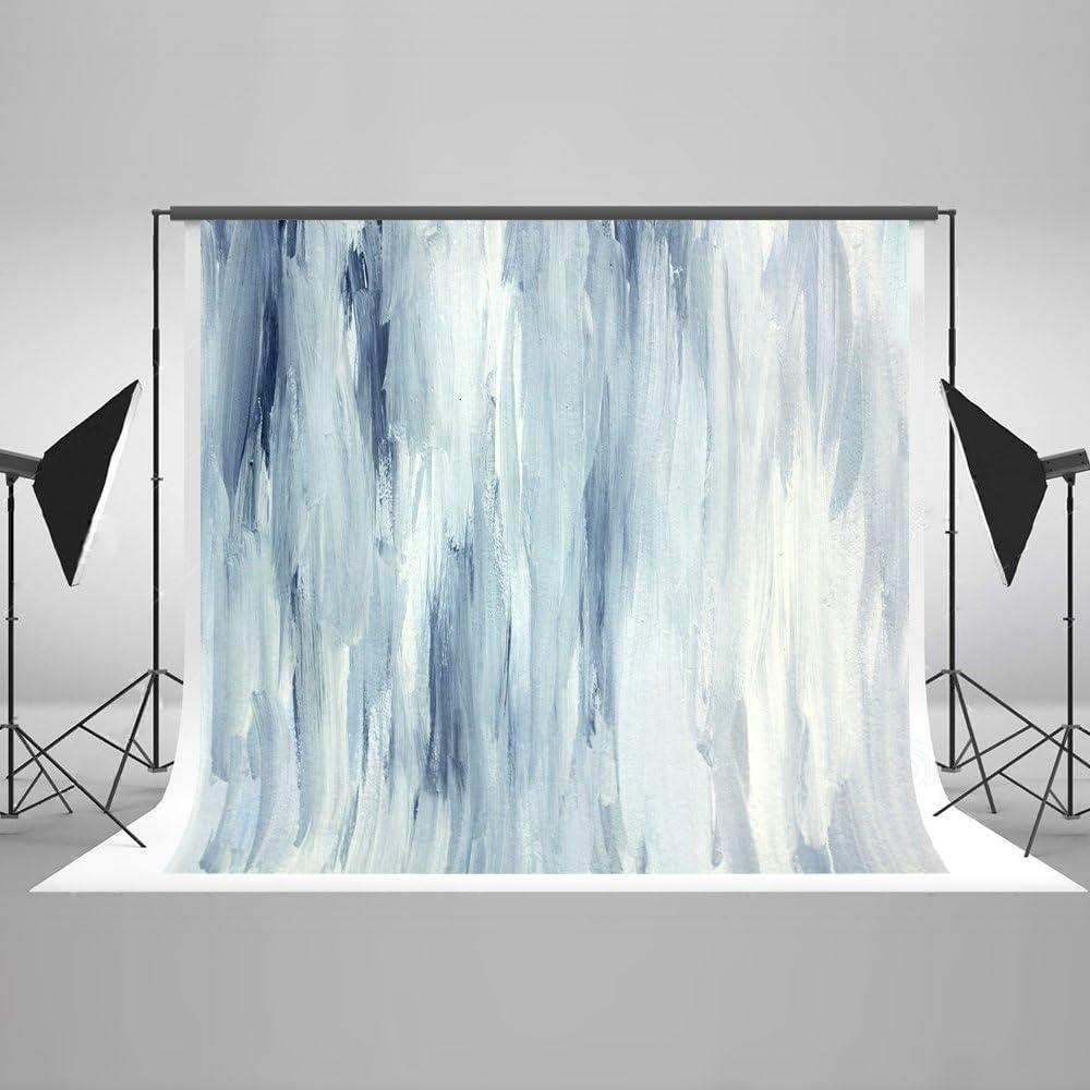 KateHome PHOTOSTUDIOS 2,2x1,5m Fondo Abstracto Azul Foto Fondo Textura Fondo Fondo de Microfibra Fondos para Estudio fotogr/áfico