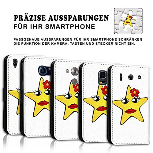 Wallet Book Style Flip Handy Tasche Case Schutz Hülle Schale Motiv Etui für Apple iPhone 4 / 4S - Design Flip MV124