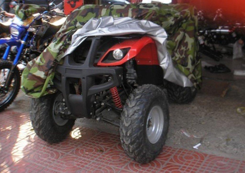 KESOTO Quad ATV Protector De La Cubierta Impermeable para Yamaha Honda Suzuki XXL Camo