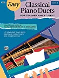 Easy Classical Piano Duets for Teacher and Student, Bk 2 (Alfred Masterwork Editions)