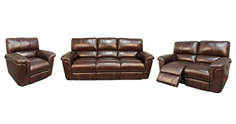 Parker House Hitchcock Living Room Set With Sofa Loveseat And Recliner