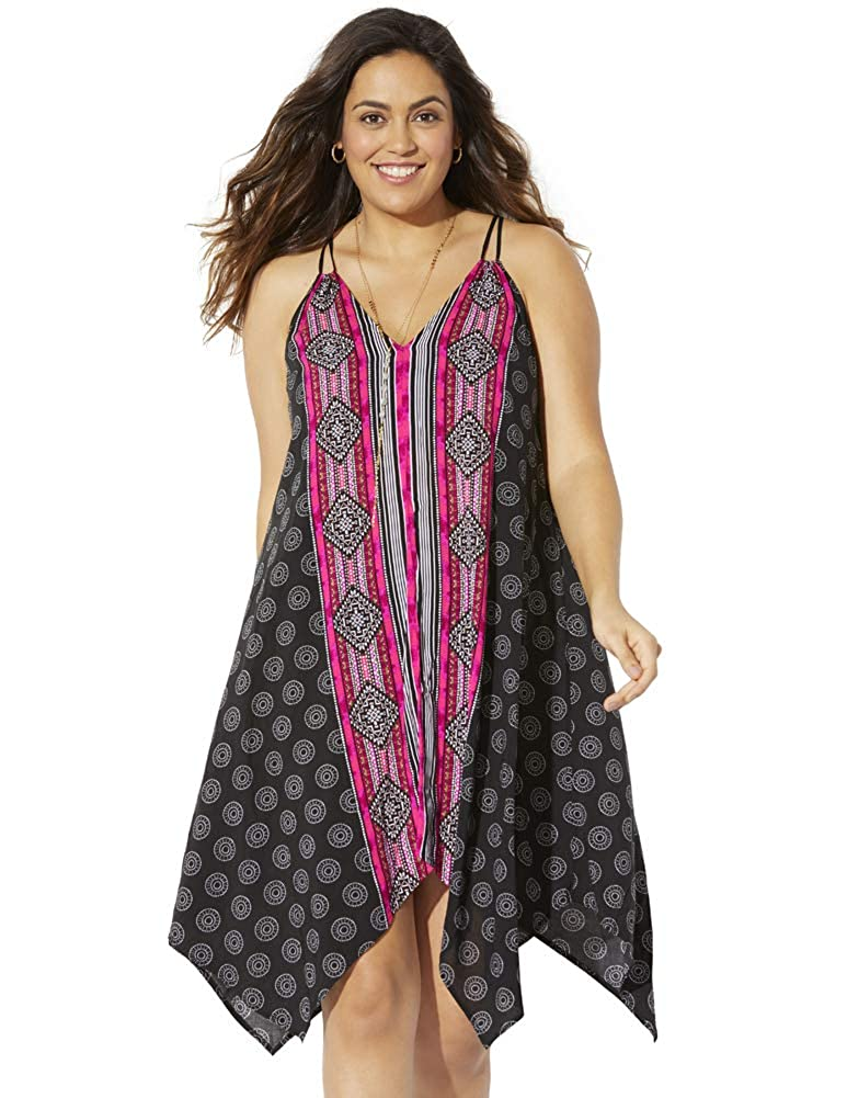Swimsuits for All Womens Plus Size Kylie Dress
