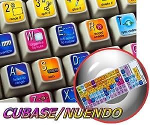 STEINBERG CUBASE / NUENDO NEW KEYBOARD LABELS SHORTCUTS