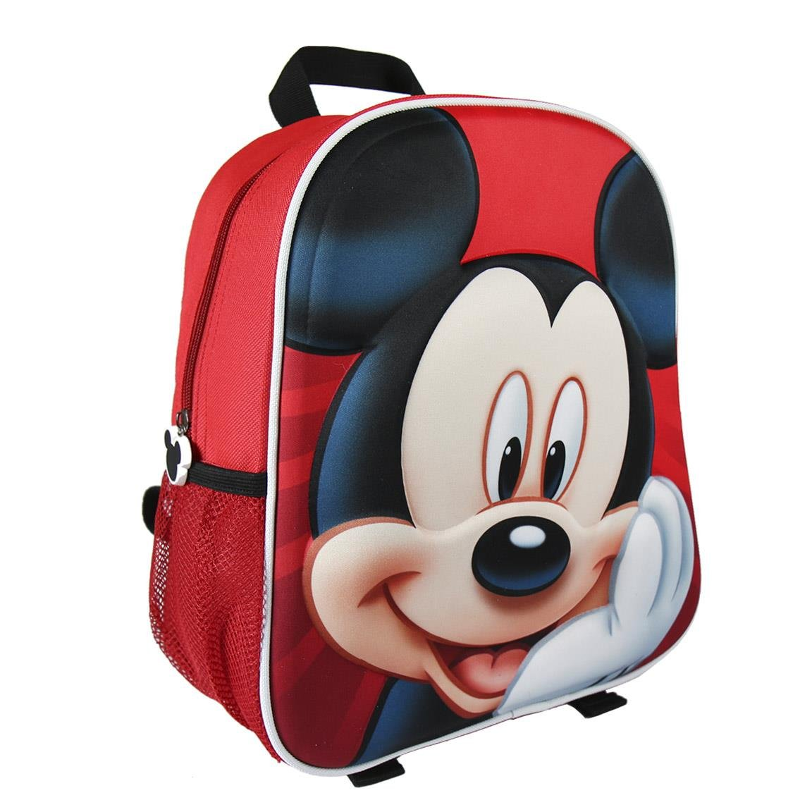 Amazon.com | Disney Mickey Mouse Red Child Backpack Small 3D | Kids Backpacks