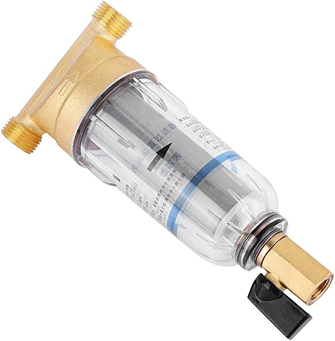 Wiederverwendbare Spin Down-Sediment-Wasser-Filter-Hahn-Wasseraufbereitungs Unter Sink Trinkwasser Tap Filter Kit-System
