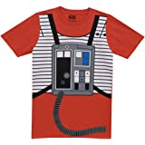 Star Wars I Am Luke Skywalker Flight Suit Mighty Fine Adult Costume T-Shirt  Tee 8858f68a6f7d