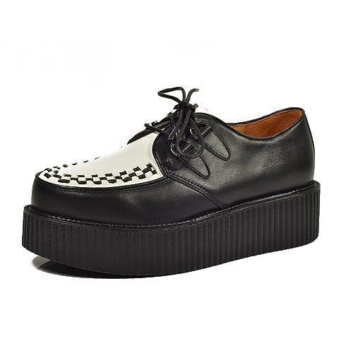 la mejor calidad para 100% originales calidad Cuero Zapatos Para Hombre Cordones Plataforma Oxfords Gótico Punk Creepers